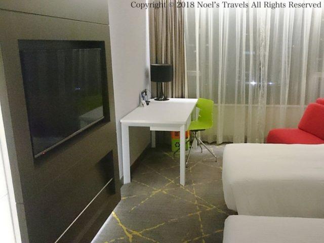 香港のホテル「The City View」の客室