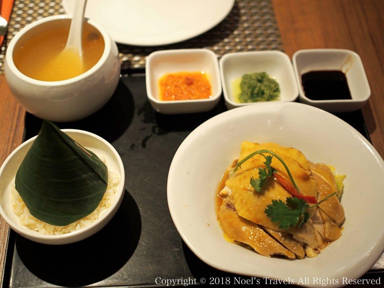 香港で食べたチキンライス