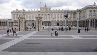 スペインのマドリード王宮