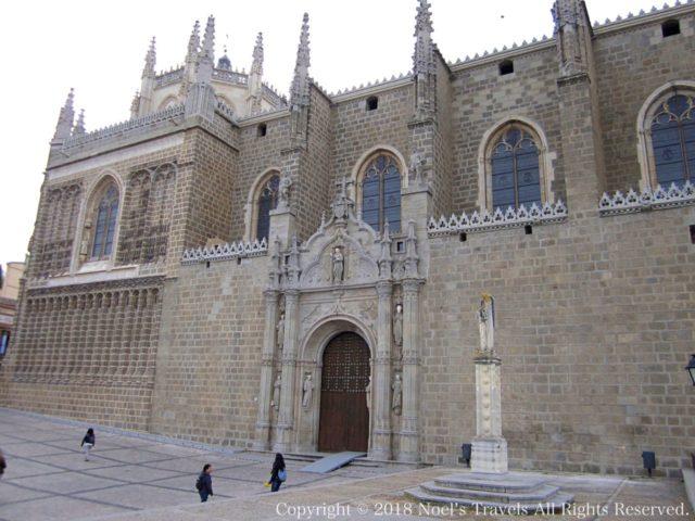 トレドのサン・フアン・デ・ロス・レイエス教会