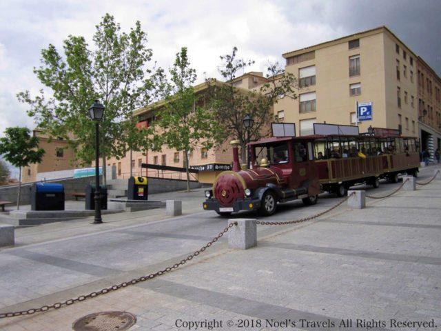 トレドの観光列車