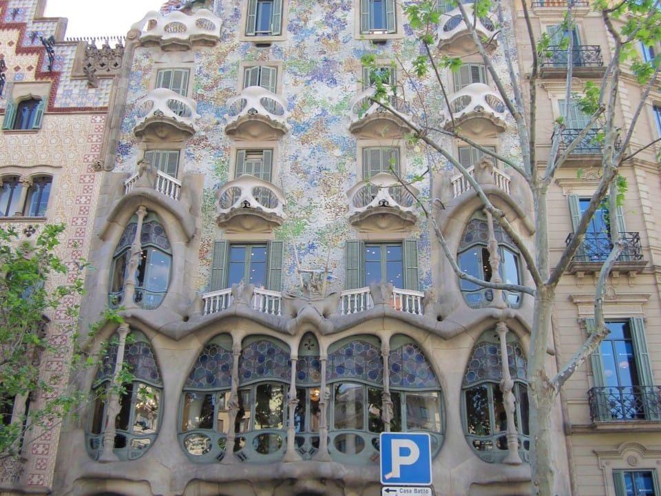 バルセロナのカサ・バトリョ