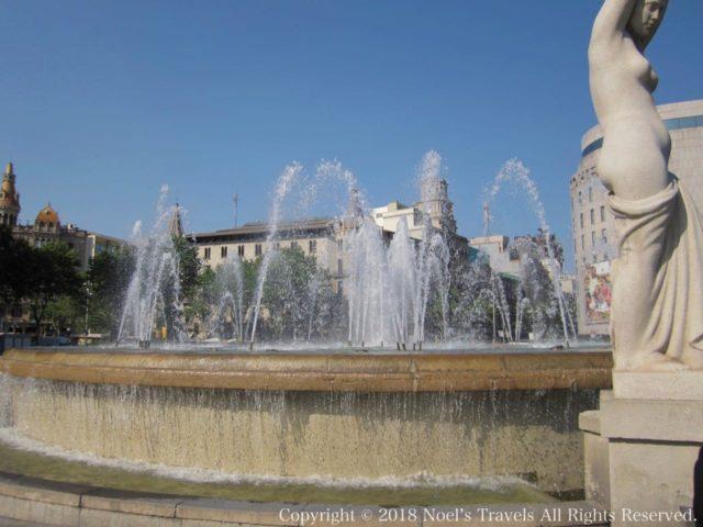 バルセロナのカタルーニャ広場