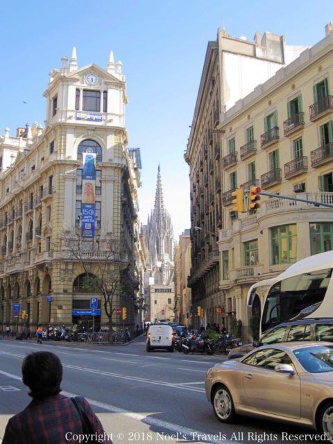 バルセロナのゴシック地区とカテドラル