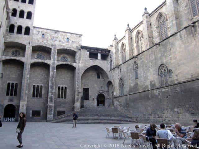 バルセロナの王の広場