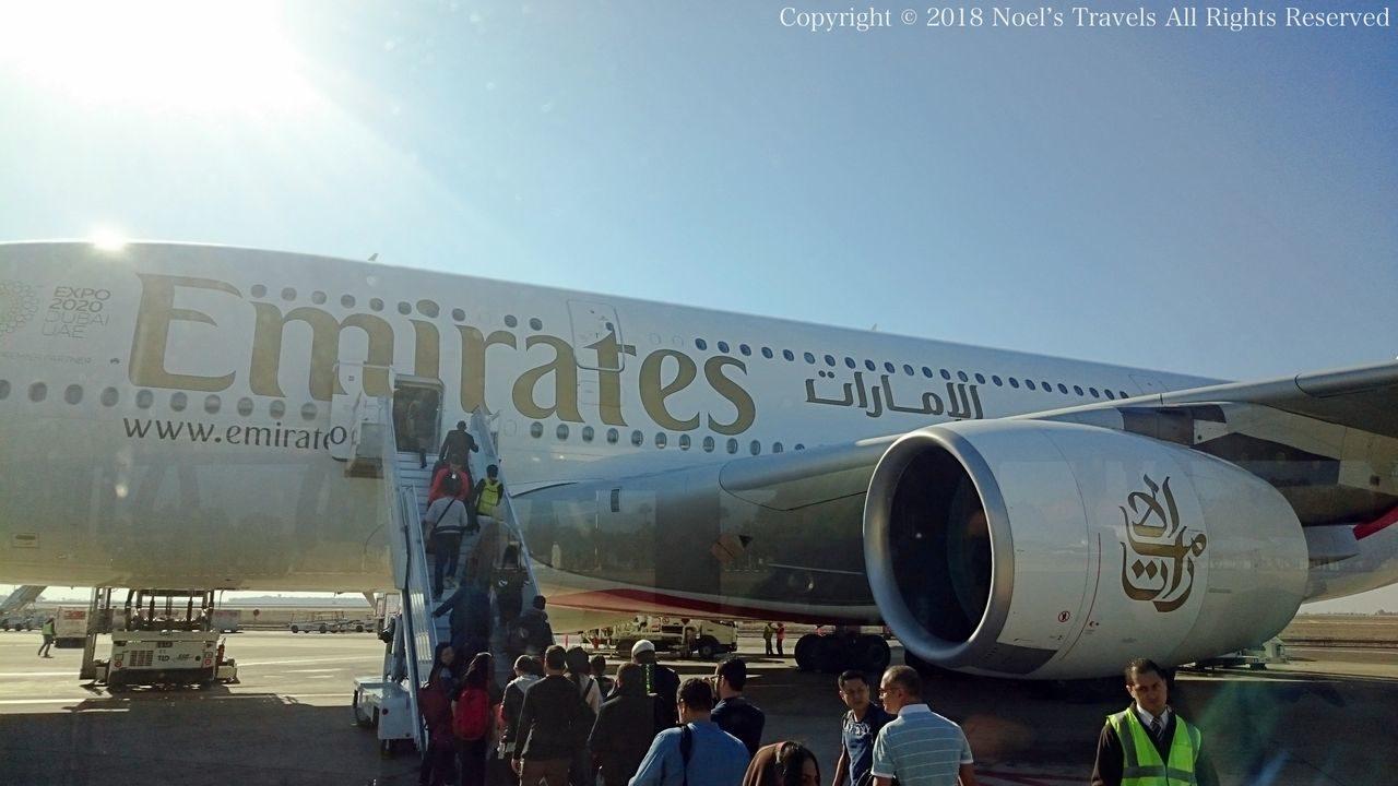 エミレーツ航空エアバスA380