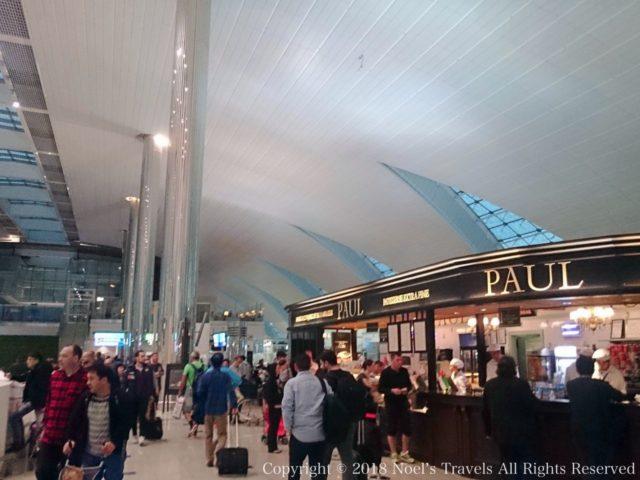 ドバイ国際空港のポール