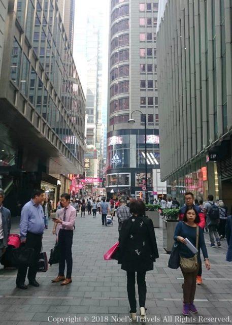 香港島のビジネス街