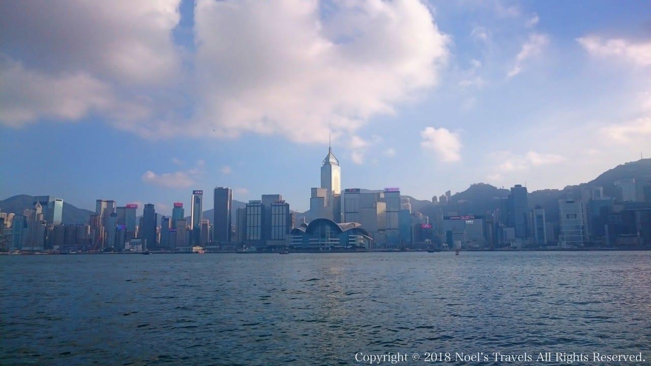 香港のヴィクトリア・ハーバー