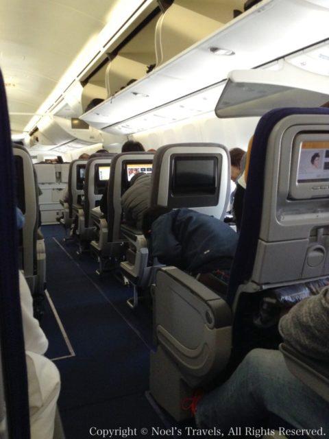 ルフトハンザ航空のプレミアム・エコノミー