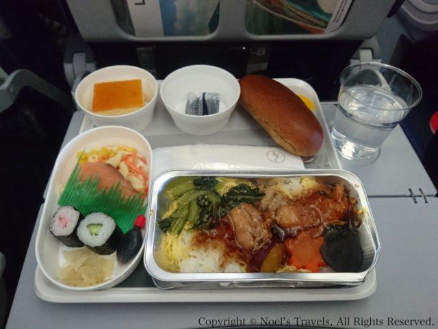 ルフトハンザ航空の機内食