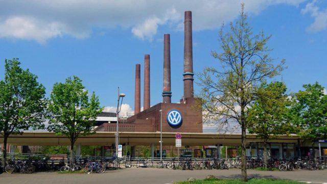 ヴォルフスブルクのフォルクスワーゲン本社工場