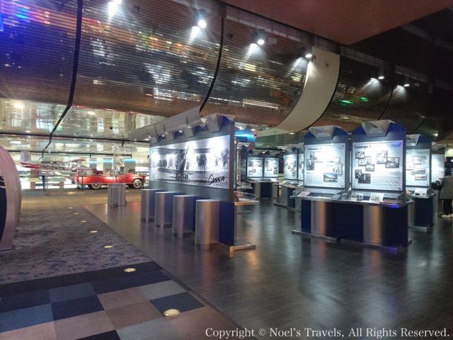 ラスベガスのマッカラン国際空港の航空博物館