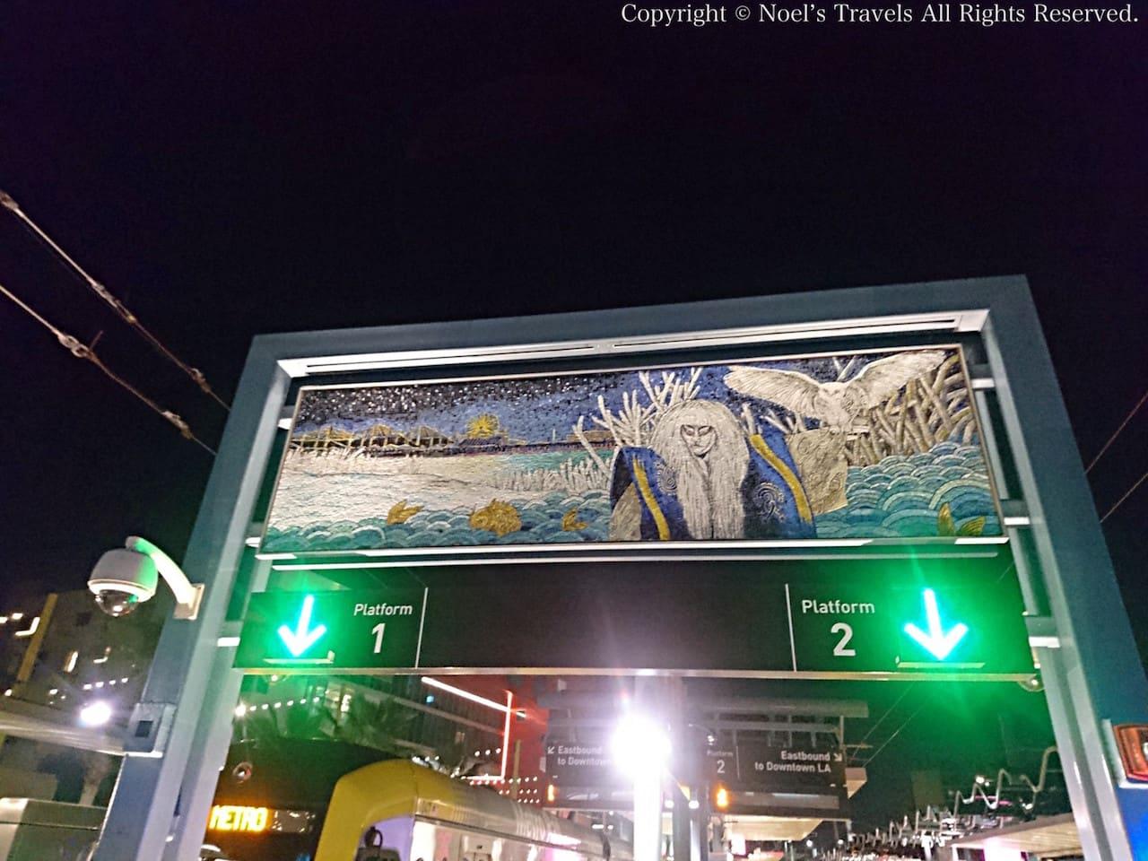 メトロのサンタモニカ駅