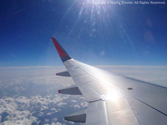 ジェットスター 機内からの眺め