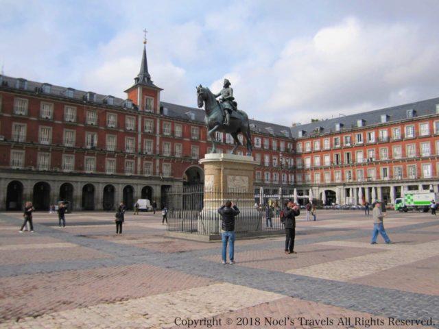 マドリードのマヨール広場
