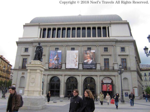 マドリードの王立劇場「テアトロ・レアル」