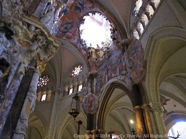 トレド大聖堂の天井