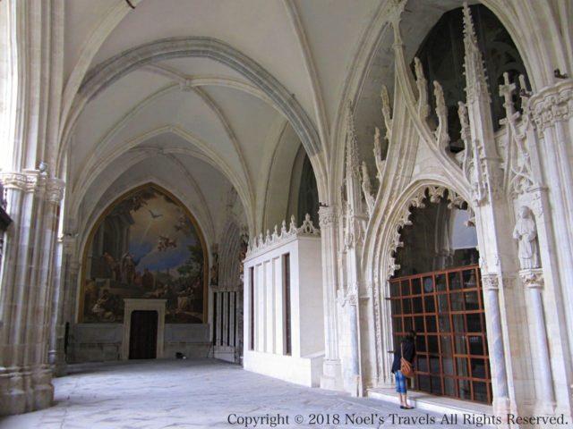 トレド大聖堂の中庭