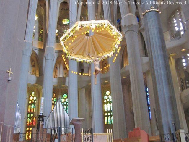 サグラダファミリアの主祭壇