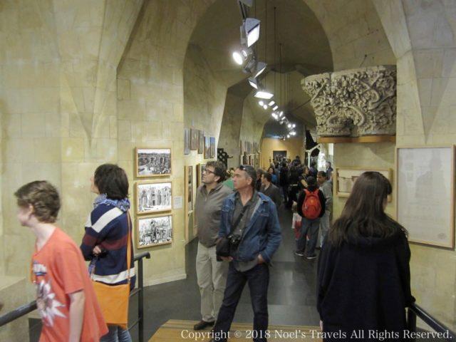 サグラダファミリアの展示室
