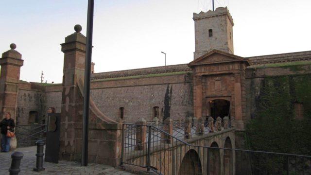 バルセロナのモンジュイック城