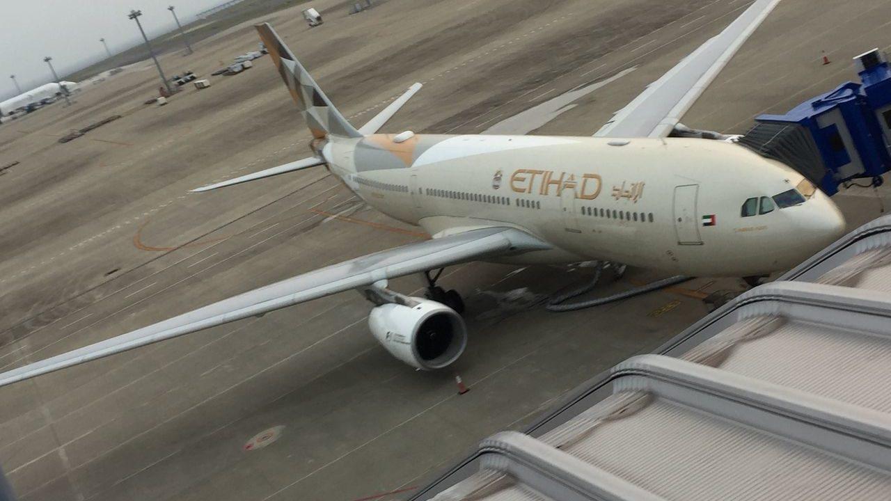 エティハド航空の機体