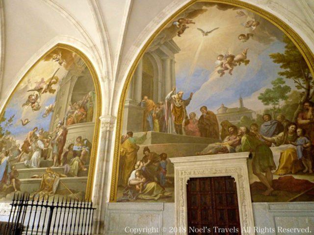 トレド大聖堂のフレスコ画