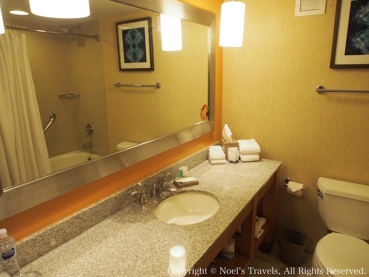 ウェスティン・ラスベガスのバスルーム