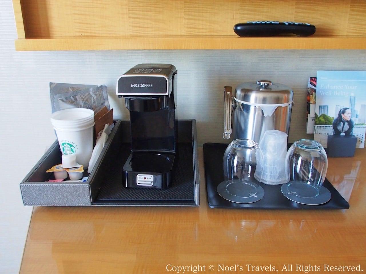 ウェスティン・ラスベガスのコーヒーマシン
