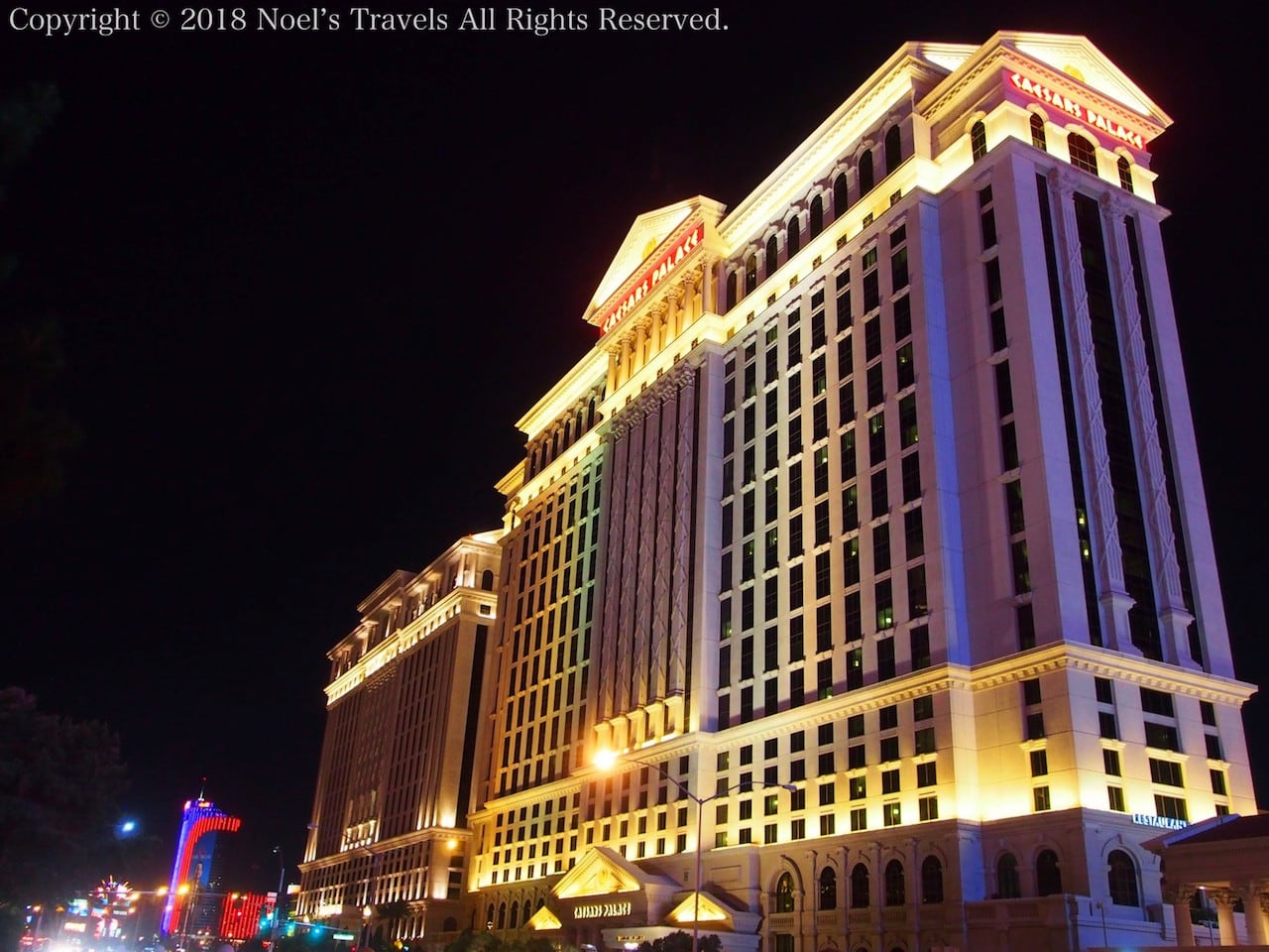ラスベガスのホテル「シーザーズ・パレス」