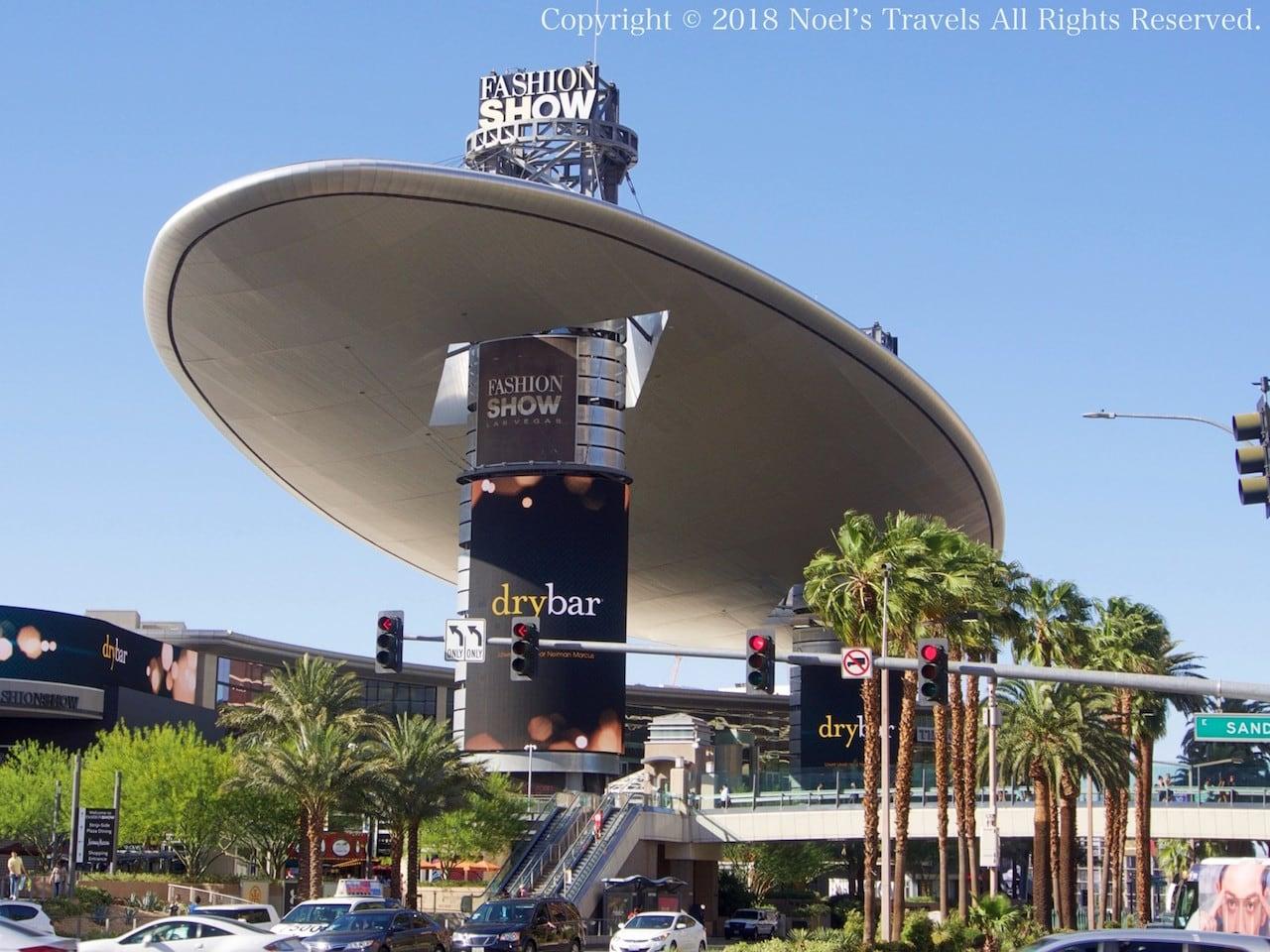 ラスベガスのショッピングモール「ファッション・ショー」