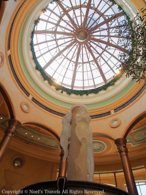 ラスベガスのホテル「パラッツォ」のエントランスホール