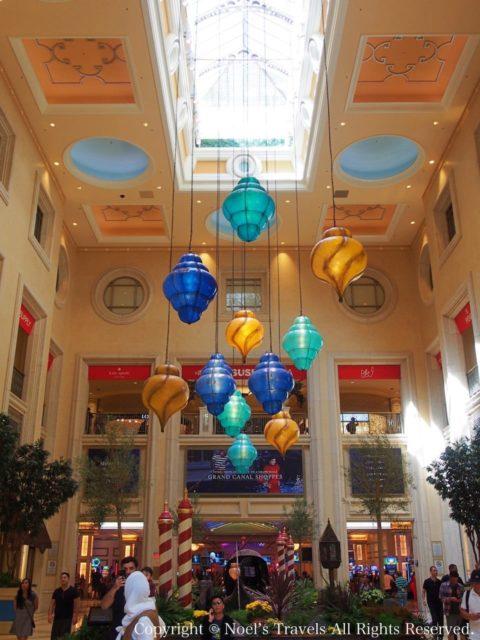 ラスベガスのホテル「パラッツォ」のホール