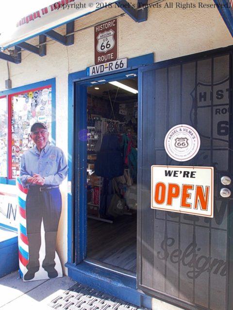セリグマンにあるエンジェルさんの理髪店
