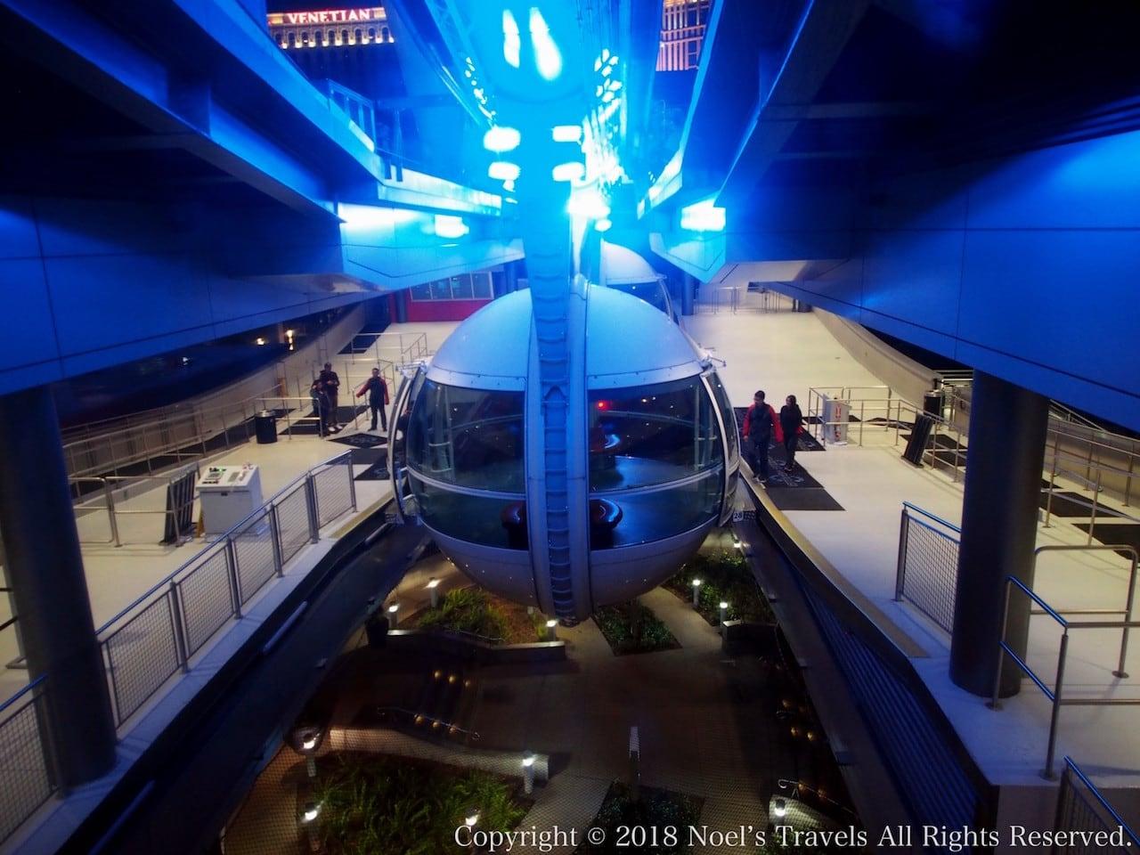 世界最大の観覧車「ハイローラー」のキャビン