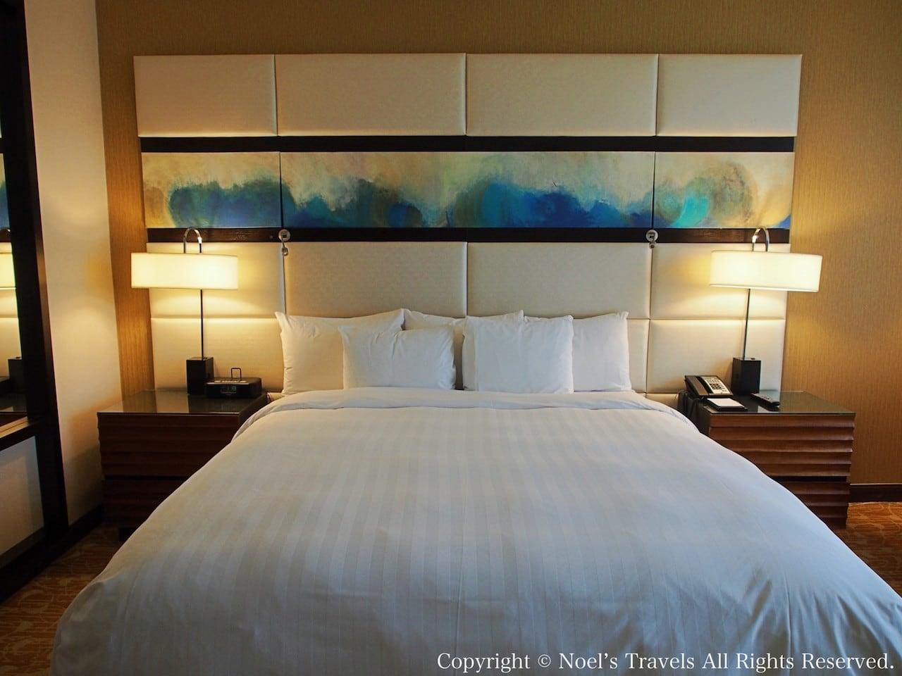 The LA グランドホテル・ダウンタウンのベッド