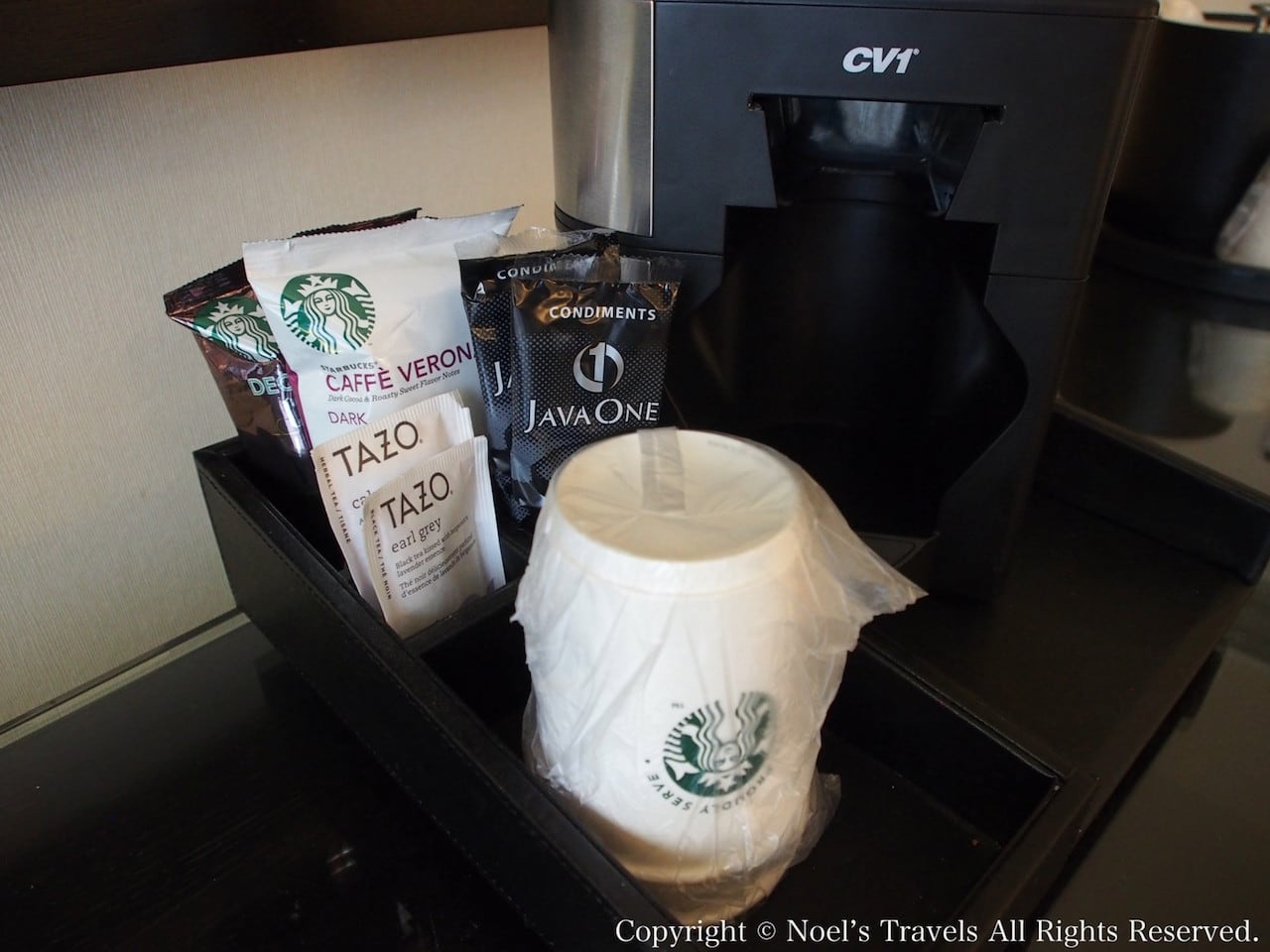 The LA グランドホテル・ダウンタウンのコーヒー