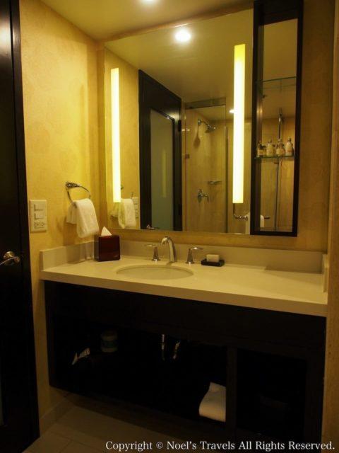 The LA グランドホテル・ダウンタウンの洗面台
