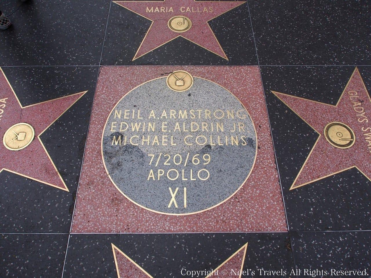 ウォーク・オブ・フェイム アポロ11号