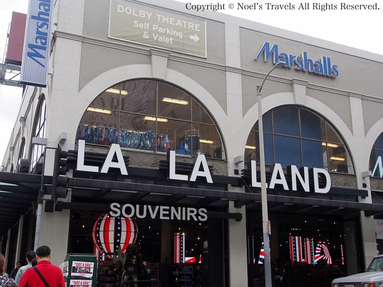 ハリウッドのお土産屋ララランド