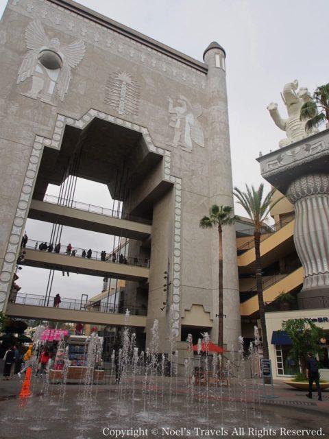 ハリウッド&ハイランドのバビロンの門