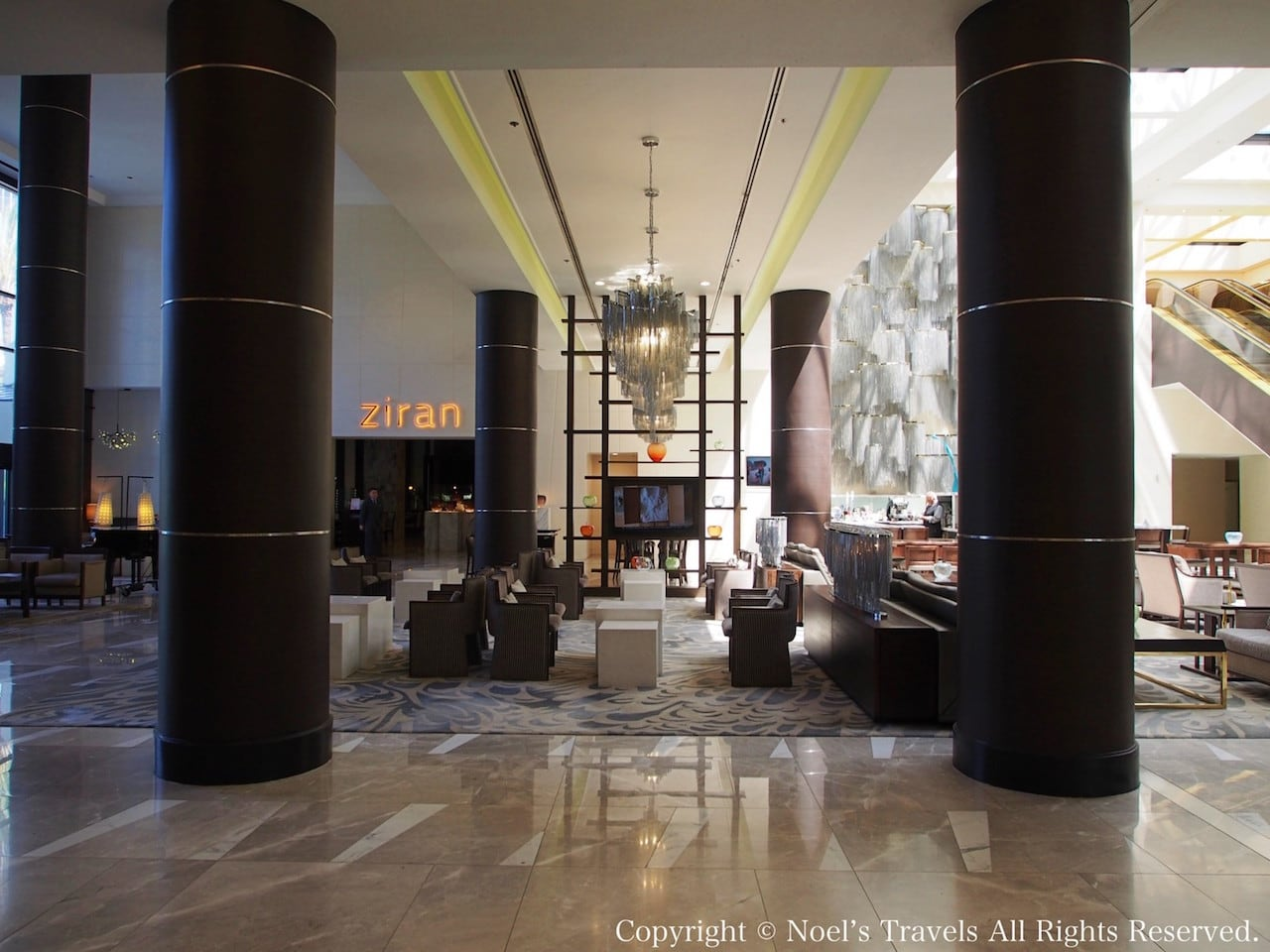 The LA グランドホテル・ダウンタウンのロビー