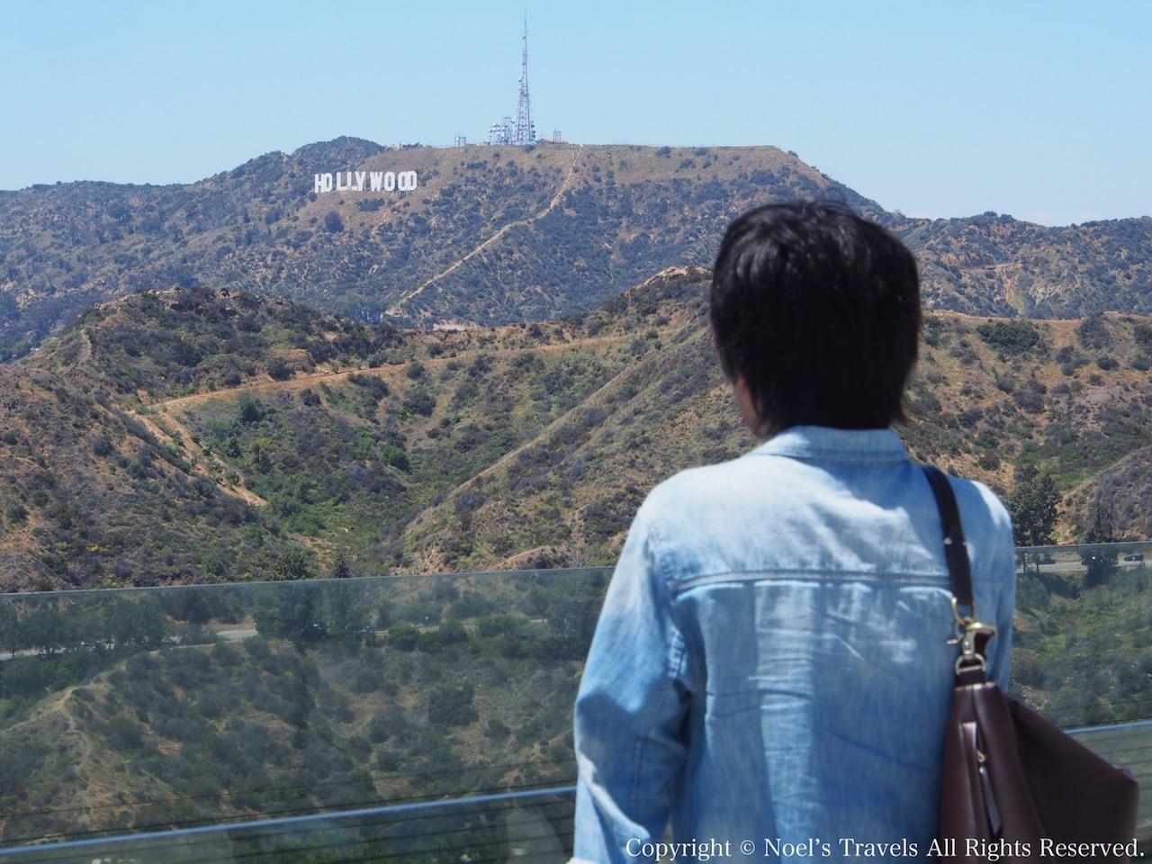 グリフィス天文台から見たハリウッド・サイン
