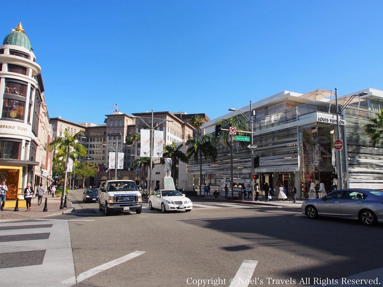 ロサンゼルスのビバリーヒルズ
