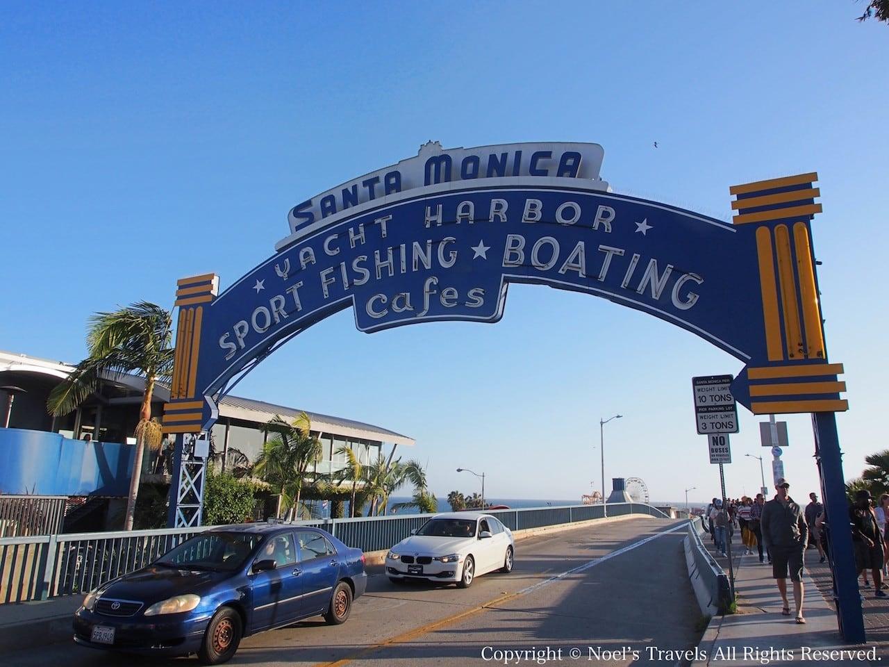 サンタモニカピアの入り口