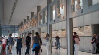 アテネの新アクロポリス博物館