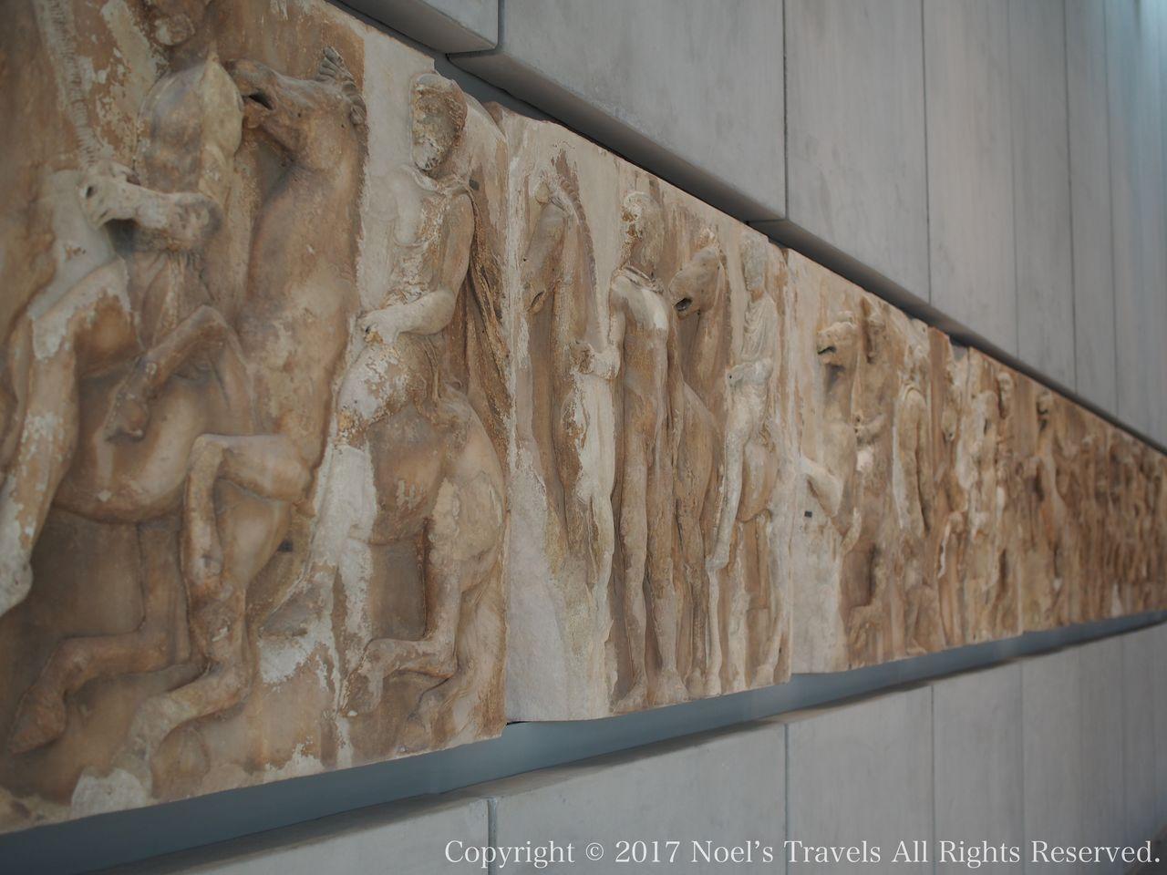 アクロポリス博物館のパルテノン・ギャラリー