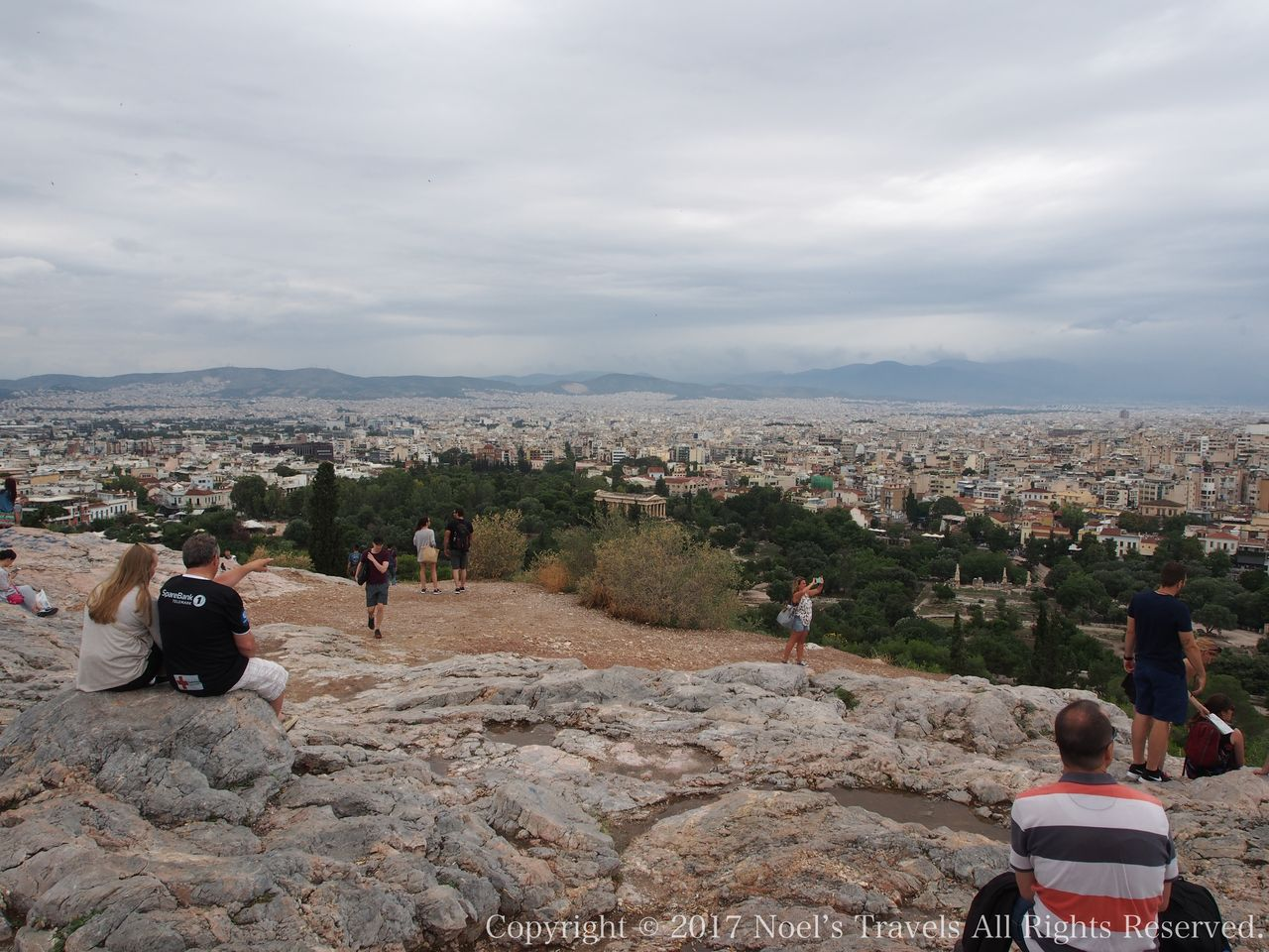 アテネの展望台「アリオス・パゴス」