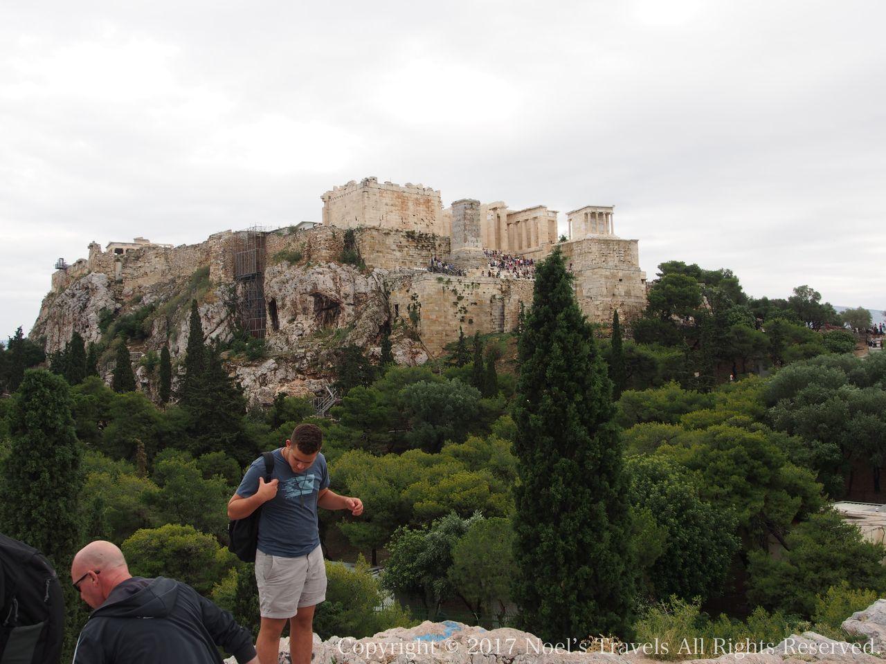 アクロポリスが見える展望台「アリオス・パゴス」